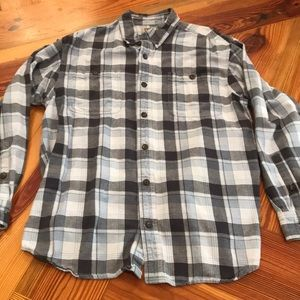 Duluth trading co flannel size large